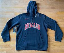 2019-20 Nike Chicago Bulls Statement Edition Club Logo Pullover Fleece Hoodie XL