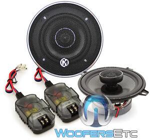 """MEMPHIS MCX52 5.25"""" CAR AUDIO 2-WAY ALUMINUM ALLOY TWEETERS COAXIAL CAR SPEAKERS"""