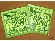 Ernie Ball Regular Slinky Electric Guitar Strings 2 Sets ~Free U.S. Shipping~