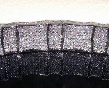 "NEW$399 Mens 8.5"" ice CUSTOM Simulate Diamond Hip Hop 14k White Gold Gp Bracelet"