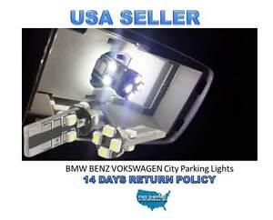 2 Error Free 8 SMD Volkswagen PASSAT Jetta MK5 MK6 GOLF GTI LED Parking Light