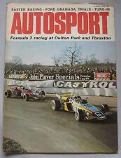 AUTOSPORT magazine April 6/4/1972 Janspeed
