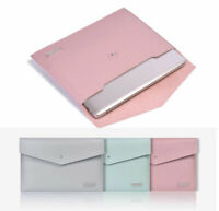 """Laptop Sleeve Envelope 13.3""""14""""15.4""""15.6"""" Computer Bag PU Leather PC Cover Pouch"""