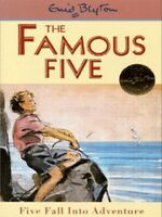 The Famous Five: Five fall into adventure by Enid Blyton (Paperback) Great Value