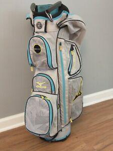 Mizuno Eight 50 Golf Bag 4 Way Carry Stand Super Sized w/ Rain Cap