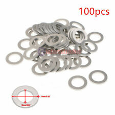 100 PC 14MM OIL DRAIN PLUG CRUSH WASHER GASKETS for  HONDA/ ACURA