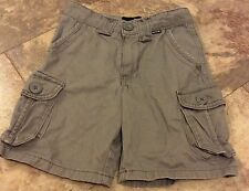 Little Boys Gray Hurley Shorts Size 5 W/ Adjustable Waist