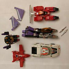 Vintage 1980's Hasbro Transformers G1 lot (5)!