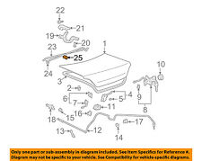 TOYOTA OEM 97-07 Camry Trunk Lid-Torsion Bar Support 6412733041