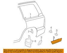 TOYOTA OEM EXTERIOR TRIM-QUARTER PANEL-Body Side Molding Right 7565160180E1