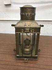 Vintage Viking Brass Ship Lantern Seen Very Little Use