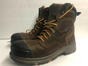 Timberland PRO Helix Men's 11.5 Wide Composite Toe Waterproof A1RW4 8-Inch
