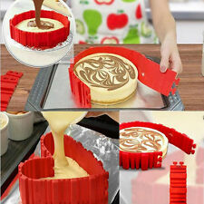4Pcs Silicone Cake Mold Magic Bake Snakes Diy Cake Mould Nonstick Baking Tool