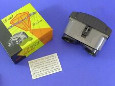 Guild Stereo realist slide viewer - Simple, large lenses, focusing, attractive!