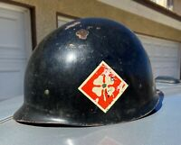 Vintage Vietnam War Fourth Army U.S. Military DUI Reception Station Helmet Liner