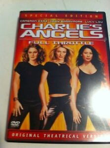 Charlie's Angels Full Throttle DVD 2003 Special Edition Pan & Scan USA