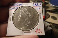 1883 O MORGAN DOLLAR ............... FREE SHIPPING