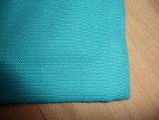Kissenschlacht! Kissenhülle Kissen Petrol mit Stehsaum 35x45 cm Baumwolle