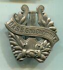 Abzeichen vor 1933 :  Deutscher Arbeiter Sänger Bund  Gau Chemnitz /  D.A.S.B.