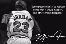 Michael Jordan Quote Art Wall Indoor Room Outdoor Poster - POSTER 24x36