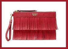NEW VICTORIA'S SECRET ON THE FRINGE  NIGHT OUT BAG2  CARDS SLOT SEXY RED HOT