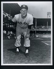 Whitey Ford Press Wire Photo Donald Wingfield The Sporting News Pitching Pose