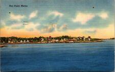 Postcard  Bay Point Maine