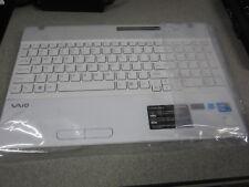 Sony VAIO VPCEB25FX PCG-71314L White Palmrest & Keyboard TESTED 012-101A-3012-C