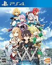 New PS4 Sword Art Online Game Director's Edition Japan PlayStation 4 Lost Song