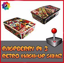 Raspberry Pi 3 (Skin only) Mashup (Use official Raspberry pi 3 case) Retropie