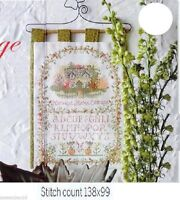 COUNTRY   COTTAGE    -    CROSS  STITCH   PATTERN  ONLY   R20M2