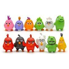 12 pcs/set Angry Birds Figures 3-5 cm Toys doll cartoon movie Figures