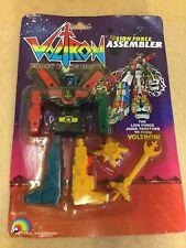 Vintage LJN Toys Voltron Lion Force Assembler Action figure Boxed MOC 1980's