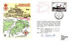 Rafes 32 retour de les malouines RAF couverture signé Gilchrist Harrier BLK 5p