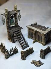 Warhammer Age of Sigmar Azyrite Ruined Chapel Custom Terrain Warcry