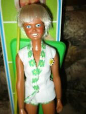 1974 Rare Vintage Dusty The Tennis Player Champion Doll Kenner General Mills