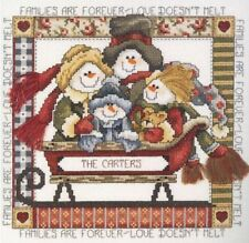 Janlynn Cross Stitch Kit - Families are Forever