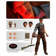 EVIL DEAD 2 ASH WILLIAMS ONE:12 DELUXE FIGURE BRUCE CAMBELL NEW MEZCO IN STOCK
