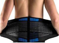 NEOPRENE DELUXE BELT DOUBLE PULL Lumbar Lower Back Support Brace - Many Sizes