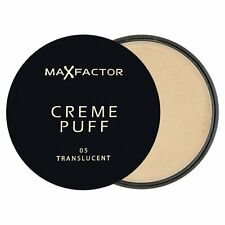 Max Factor Creme Puff Compact Powder - 5 Translucent - NEW - UK