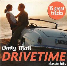 DRIVETIME: PROMO CD - CARS, CORRS, FOREIGNER,  ROSE ROYCE, CHRIS REA, SHOLA AMA