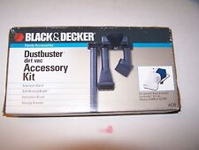 NIP Black & Decker Dustbuster dirt vac Accessory Kit AC20 sealed 1992