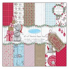 Me To You Navidad 20.3cmx20.3cm FSC Papel Pack para tarjetas/manualidades