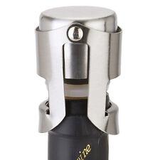 Stainless Steel Vacuum Sealed Red Wine Bottle Saver Stopper Cap Luxury Plug Cork