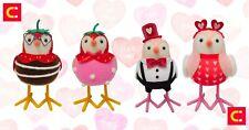 Valentines Gift! 2021 Target Spritz Fabric Birds 4x Set-Beau Vida Poppy Rowan