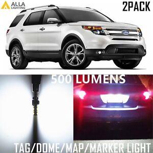 Alla Lighting LED License Plate Dome Map Marker Light for Ford Explorer Sport