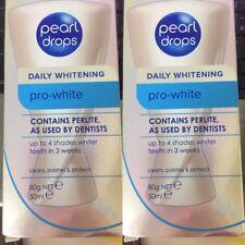 100% GENUINE & AUTHENTIC 2x PEARL DROPS PRO-WHITE TEETH WHITENING POLISH, CHEAP