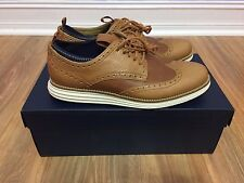Cole Haan Original Grand NV Oxford Pecan Brown Leather Men's 7 C22525 Lunar NEW
