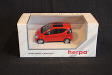 Herpa Mercedes-Benz A-Class 1:43 Red (JS)