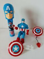 "1990 Marvel Captain America 5"" Action Figure Loose Lot"